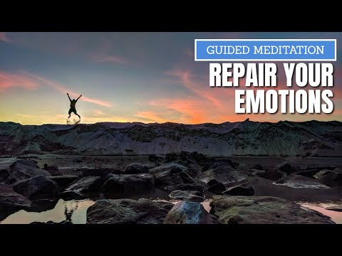 Guided Meditation to repair your spirit and soul   ultimate contemplation