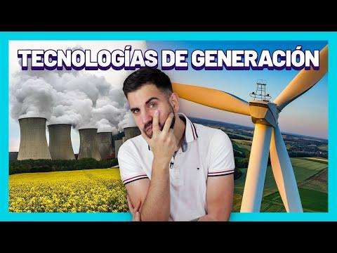 ¿Qué tipos de Centrales Eléctricas existen? ⚡ Tecnologías de Generación