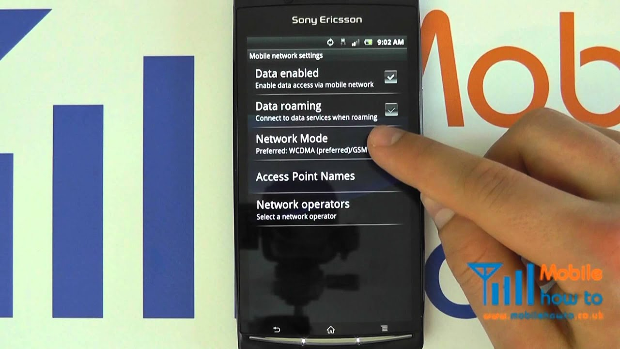 How to configure 3G on iPhone