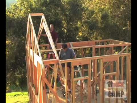 How To Install Trusses Freeze Blocks And Second Truss