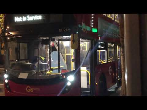 Go-Ahead London EH289 - Side Blind Change (Partial)