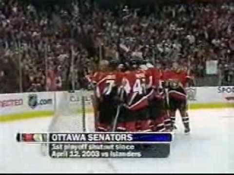 Ottawa Senators '07 Playoff Run Part 1