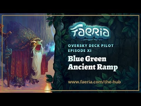 Faeria - Oversky Deck Pilot - Green Blue Ancient Herald
