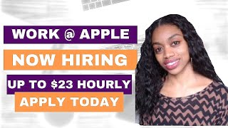 APPLE Work From Home Jobs.$15-$23 An Hr. + Resume & Interview tips!