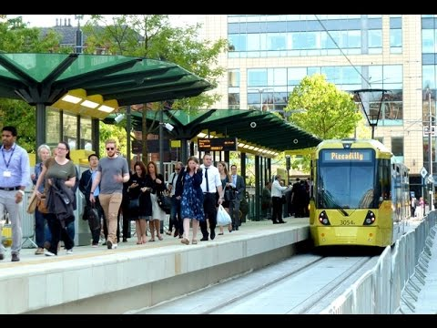 New Metrolink St Peter's Square stop now open