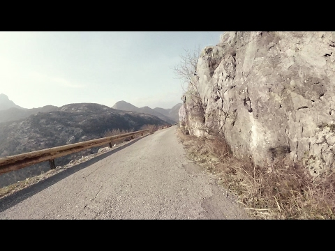 Beautiful Skadar route from Shtegvasha to Virpazar (road cycling downhill)