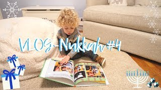 VlogNukkah #4 - A VERY SPECIAL PRESENT & HANUKKAH PARTY Daily Hanukkah Vlogs