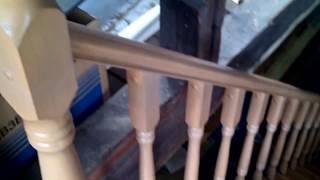 видео Декорируем лестницу в доме