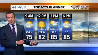 13 First Alert Weather forecast for May 22
