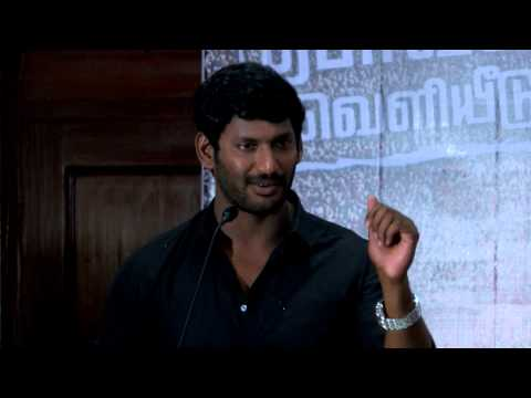 I will fight for the right of Actors in Nadigar Sangam- Actor Vishal-RedPix 24x7
