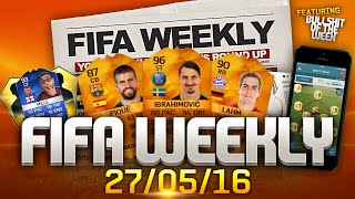 FIFA Weekly 27/05/16 - PES 2017 Reveal, iMOTM and Futties Design, TOTS Giveaway, FIFA Wedding Cake