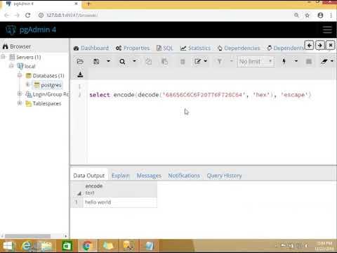 Converting SQL Server varbinary to PostgreSQL Bytea
