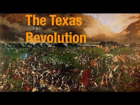 The Texas Revolution (Story Time with Mr. Beat) - YouTube