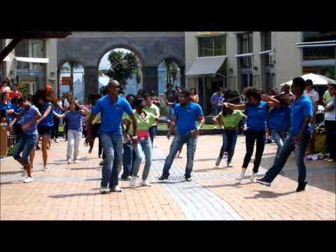 Flashmob at Bagatelle Mall, Mauritius