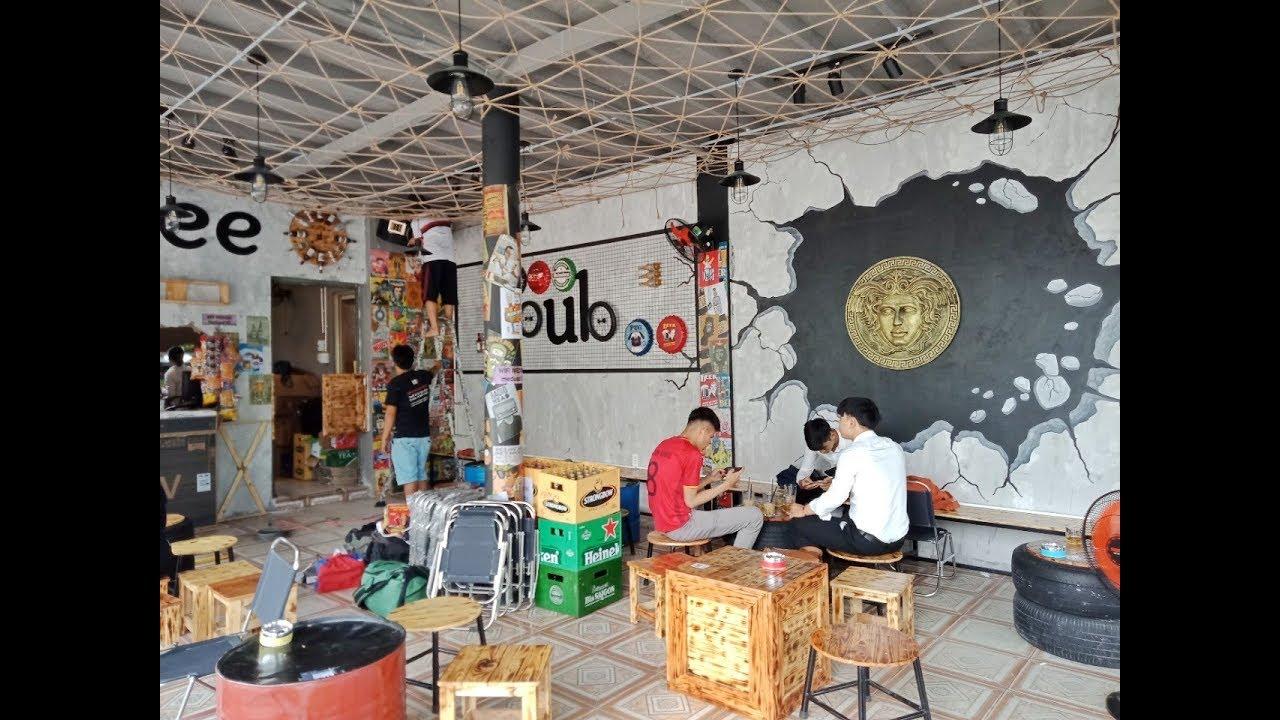 Thiết kế thi công quán cafe MEDUSA coffee & pub phong cách độc đáo Bình Dương