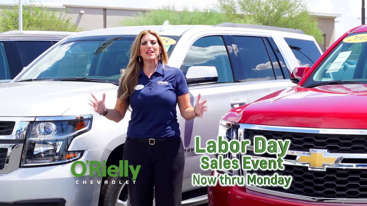 Labor Day Used Car Sales