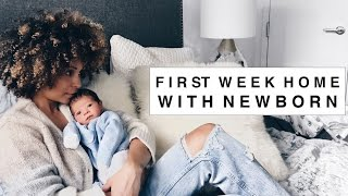Vlog: First Week Home with My Newborn