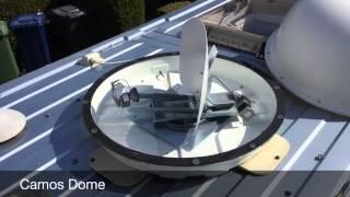 Camos Auto Satellite Seeking Dome Dish
