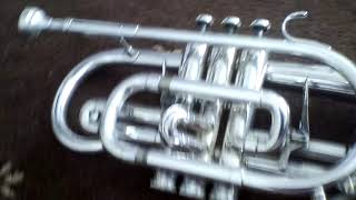 Parts of a cornet