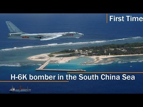 China lands bomber on South China Sea island for first time
