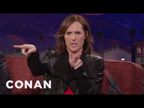 Molly Shannon Was A Serial Masturbator   CONAN on TBS