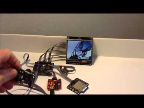 NET Gadgeteer Touch Screen Camera