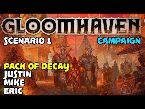 GLOOMHAVEN | Scenario #1 | Campaign Mode