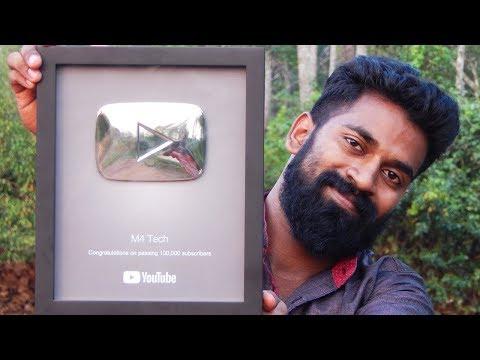 അടിച്ചു മോനെ Play button | Malayalam Playbutton Unboxing | M4tech |