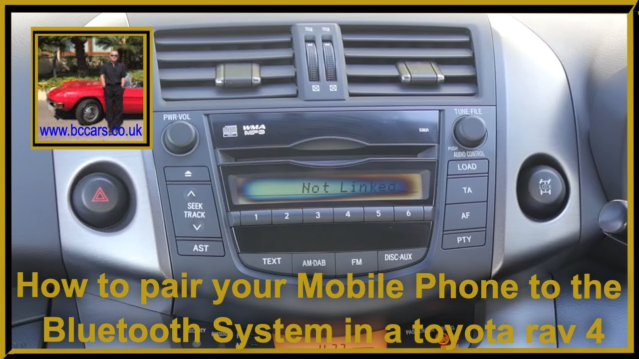 How To Pair Your Mobile Phone To The Bluetooth System In A Toyota