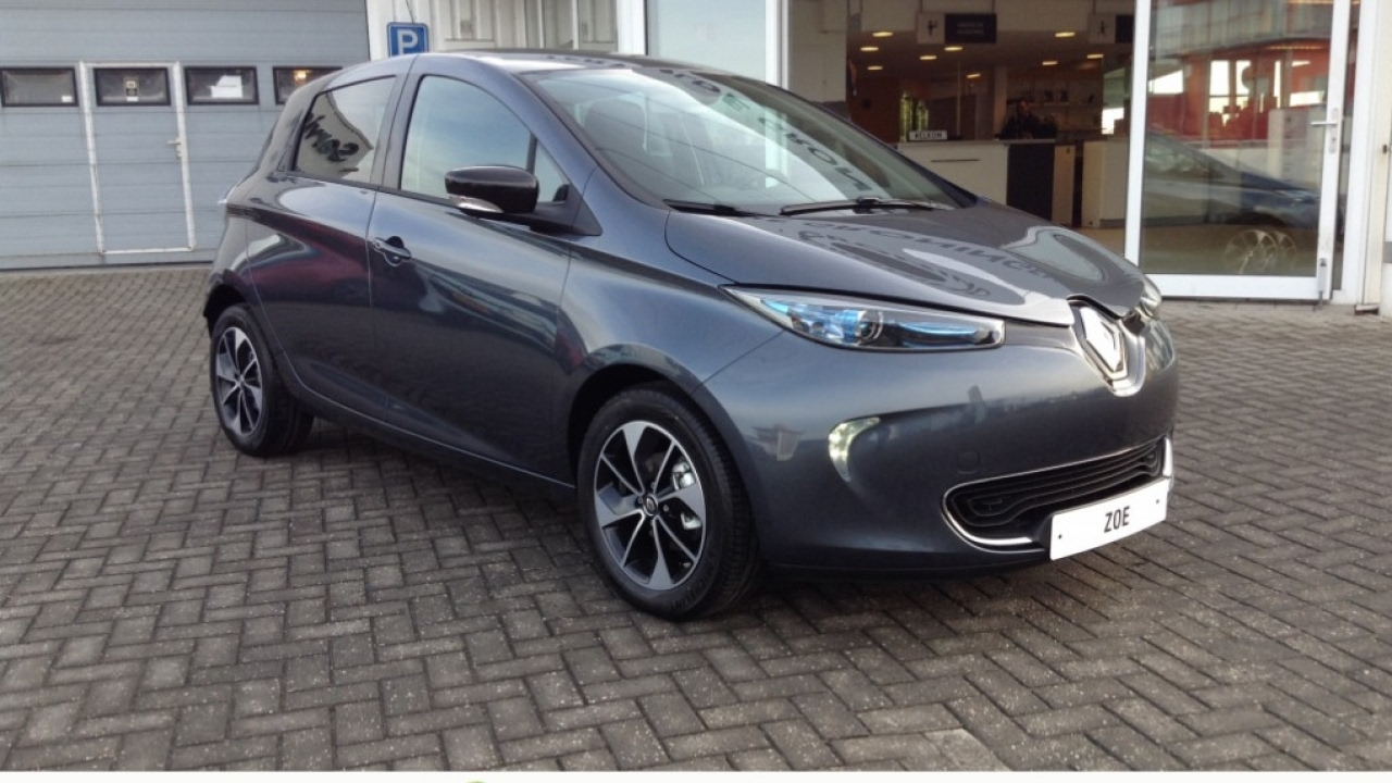renault zoe intens ex accu r90 40 kw camera verw. Black Bedroom Furniture Sets. Home Design Ideas