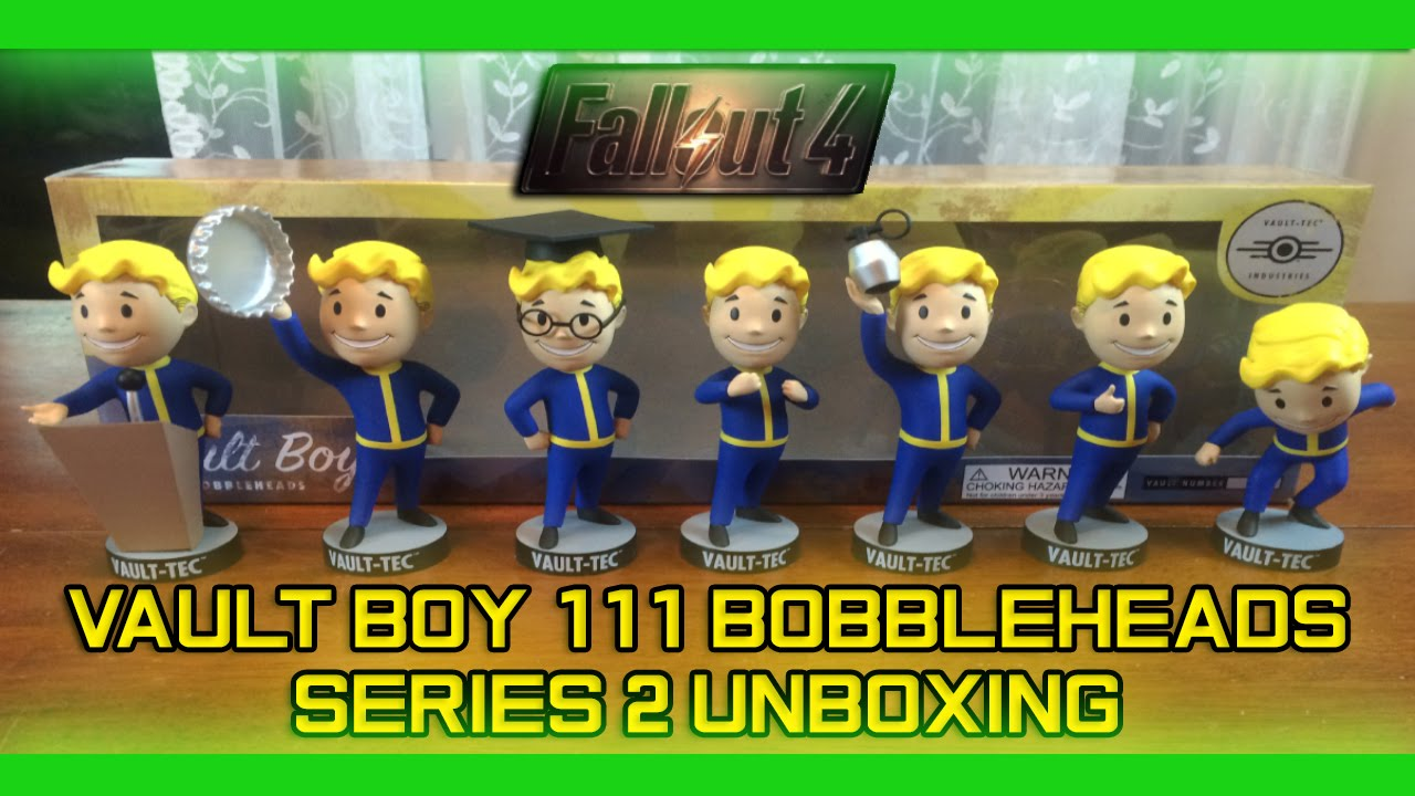 Vault Boy 111 Bobbleheads Series Two Intelligence Gaming