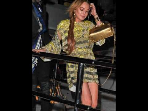 Lindsay Lohan Cannes Party