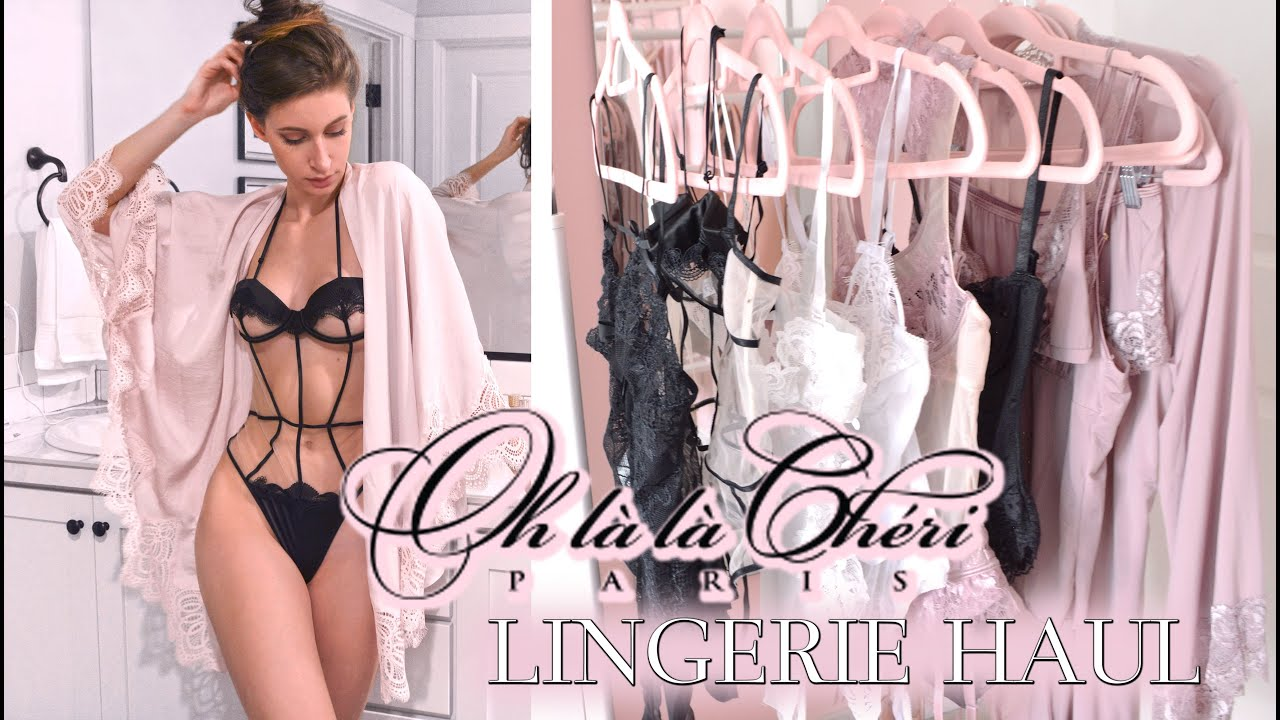 2f28191ae LINGERIE REVIEW TRY-ON ♥ OH LA LA CHERI - YouTube
