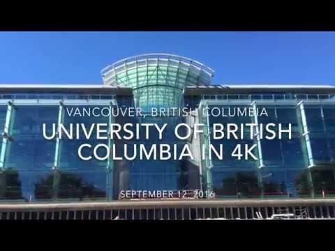[4K UHD] University of British Columbia