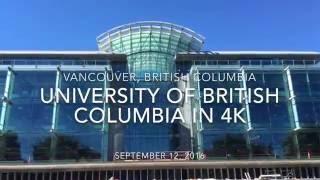 [4K UHD] University of British Columbia thumbnail
