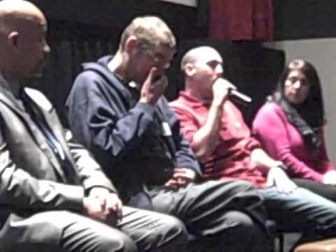 TIME OUT OF MIND post-film panel w/Concord, NH Coalition to End Homelessness