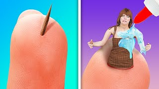 SAFETY FIRST! If Splinter Was An Annoying Person! LIFE-SAVING Hacks You Have To Know