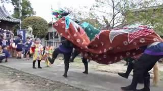藍住町指定無形文化財 勝瑞獅子舞