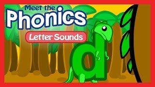 Meet the Phonics Letter Sounds - d