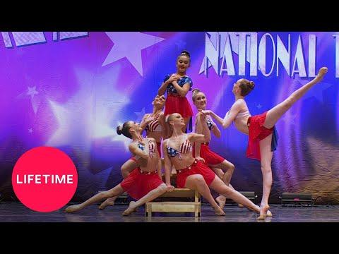 Dance Moms: Candy Apples Group Dance The Patriot Season 5  Lifetime