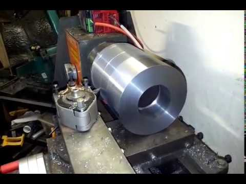 Tornitura fuso per tornio cnc - YouTube