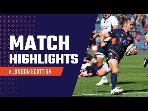 Highlights | Edinburgh 57-21 London Scottish
