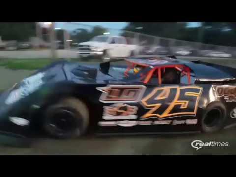 Don Hammer Racing.  Lincoln Speedway Summer Nationals makeup race 2016