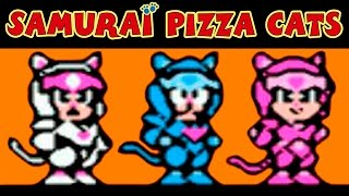 Samurai Pizza Cats / Ninja Cat / Ниндзя Коты прохождение (NES, Famicom, Dendy)