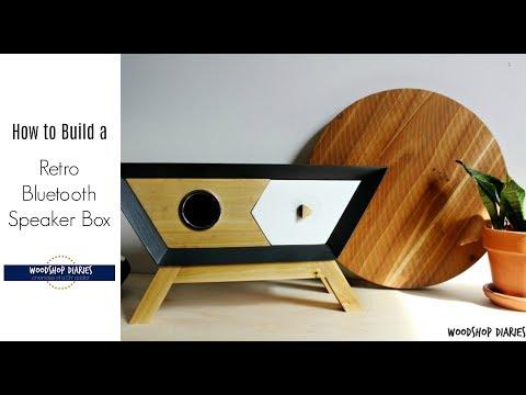 How to Make a Retro Wooden Wireless Bluetooth Speaker Box