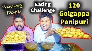Rs 80 for UNLIMITED Golgappe or Panipuri