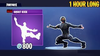1 Hour of Fortnite Squat Kick