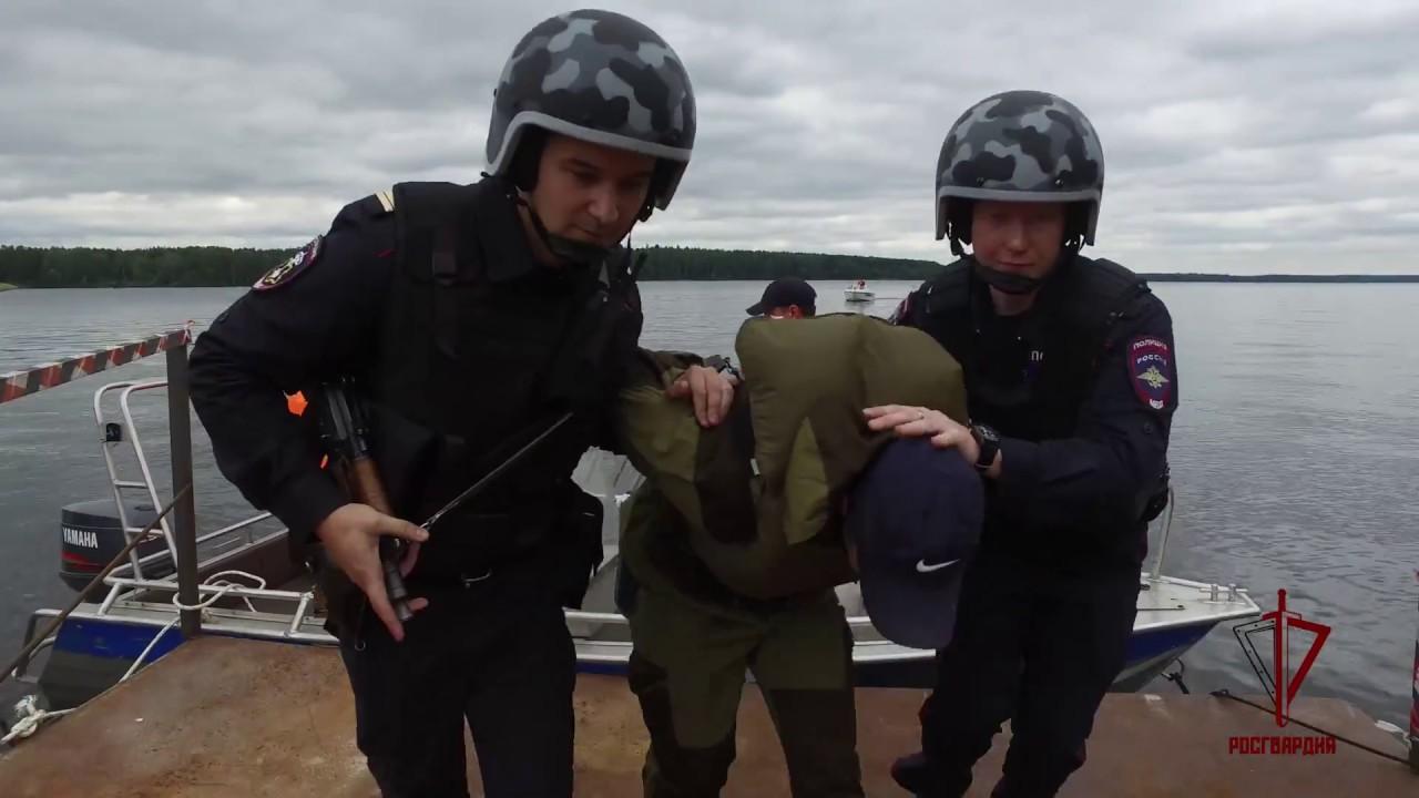 #видеоросгвардия Охрана Учинского водохранилища