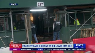 Police shoot person in Lower East Side