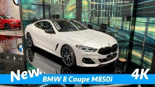 BMW 8 Coupé M850i 2019 - first FULL exclusive quick look in 4K